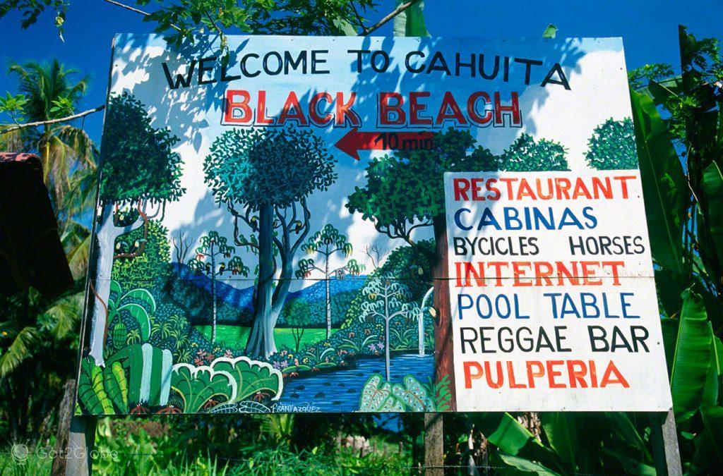 Bem-vindo a Cahuita
