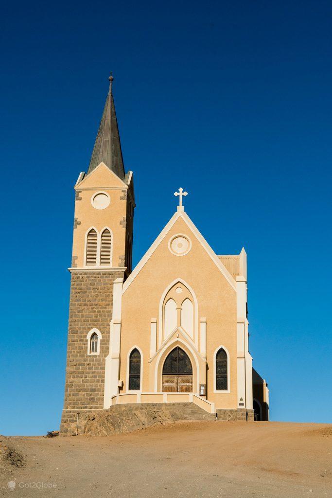 Igreja de Felsekirche, Luderitz, Namibia