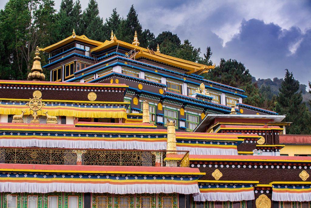 Mosteiro de Rumtek, em Sikkim, Índia