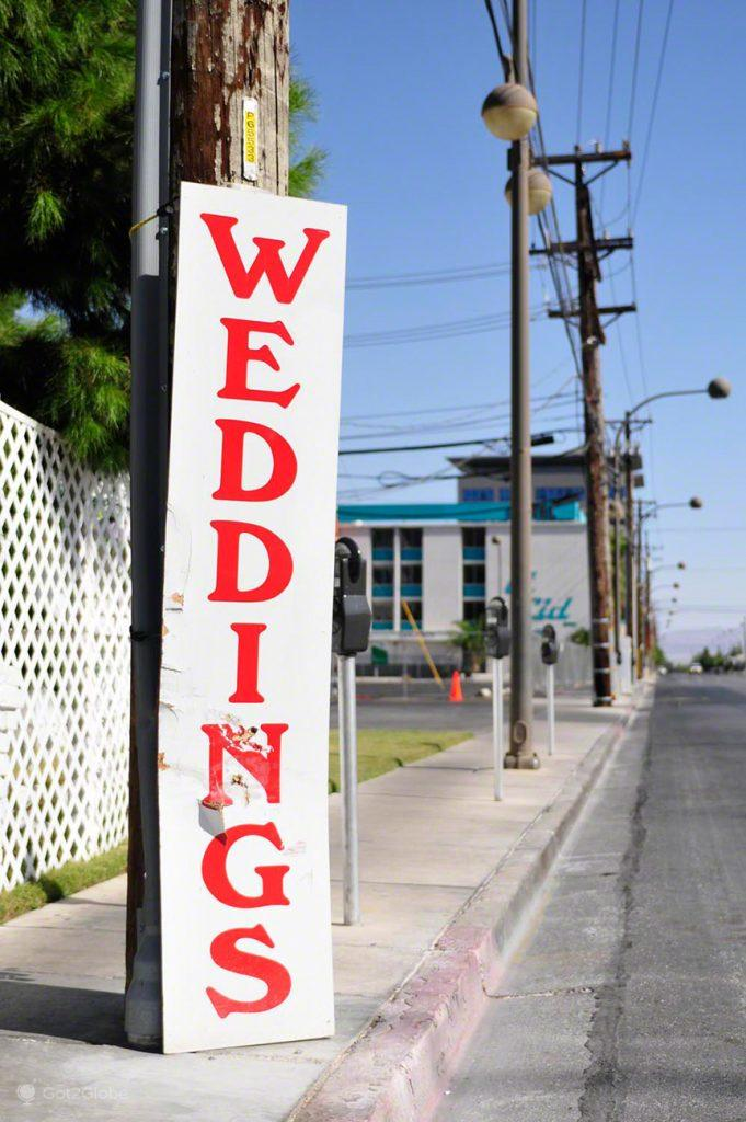 Casamentos de berma, Las Vegas, Estados Unidos