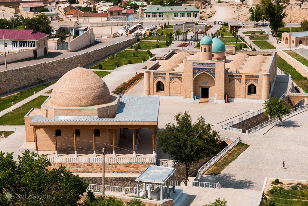 O complexo religioso de Chashma, em Nurata, Uzbequistão