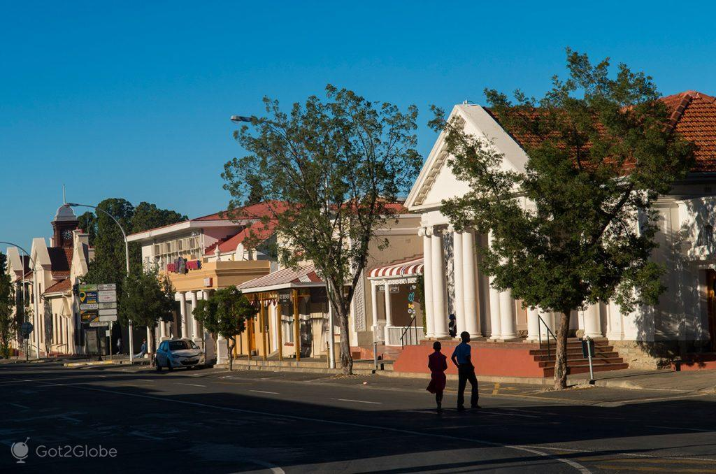 Church Street em Graaf Reinet, África do Sul