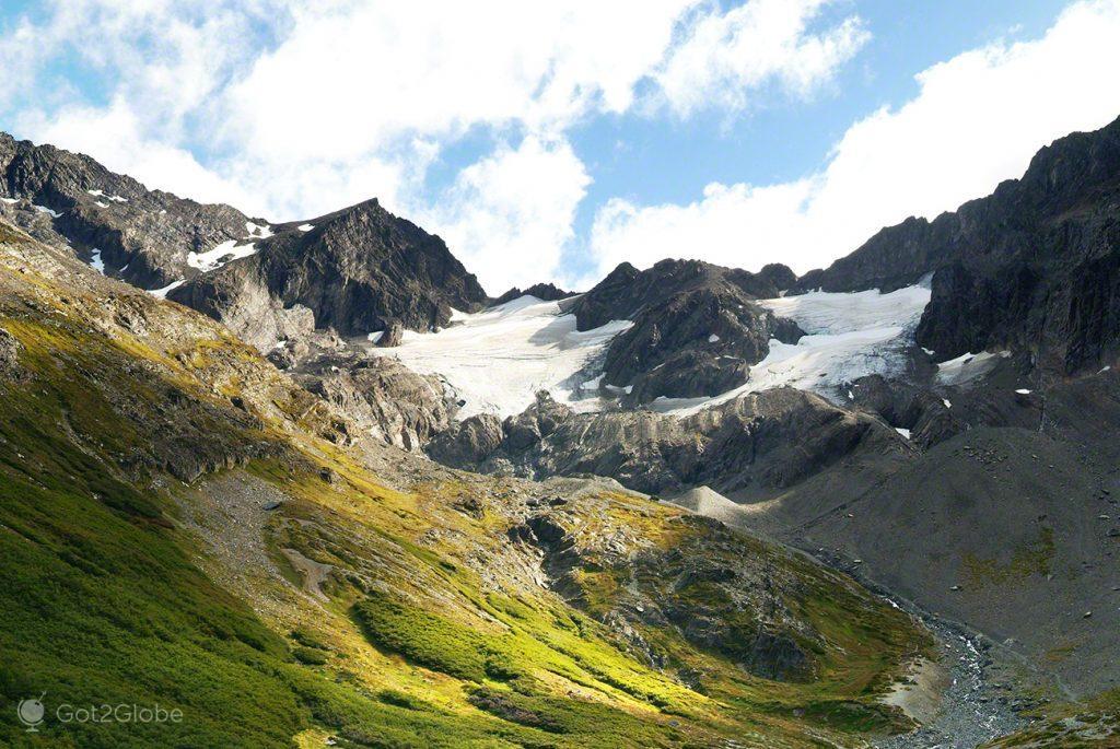 Glaciar El Martial, em Ushuaia, Argentina