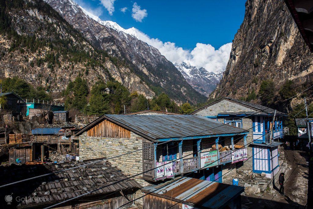 Casario de Chame, Nepal