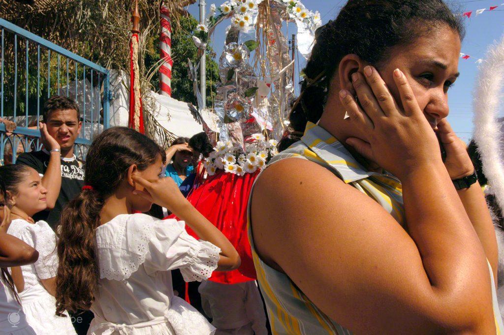 Momento da Festa Divino Espírito Santo, Pirenópolis, Brasil