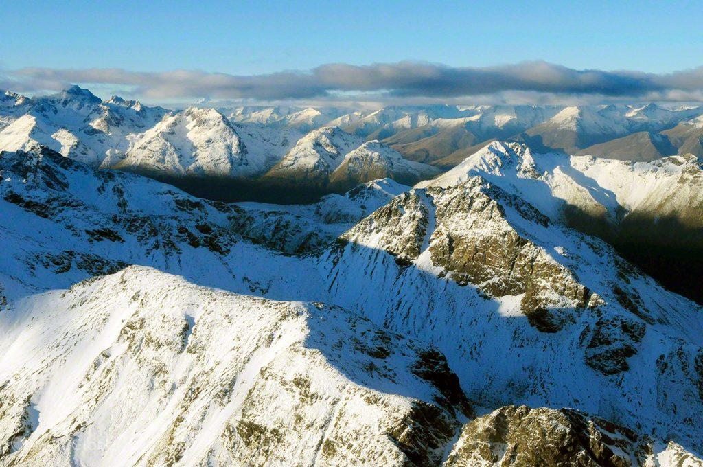 Montanhas dos Alpes do Sul, Nova Zelândia