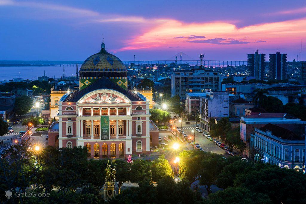 Teatro de Manaus, Brasil
