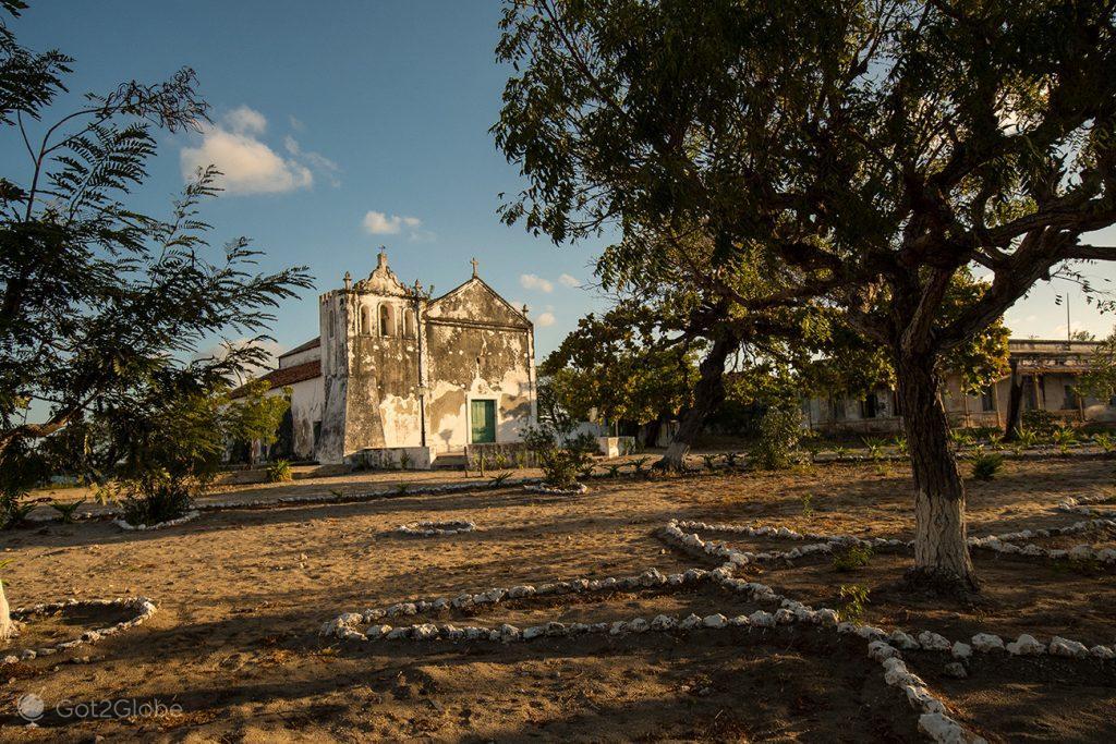 igreja de Nª Senhora do Rosário na Ilha Ibo, Quirimbas, Moçambique
