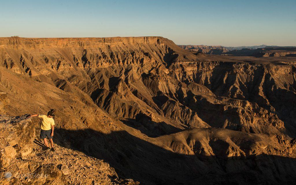 Sulcos do Fish River Canyon, Namíbia