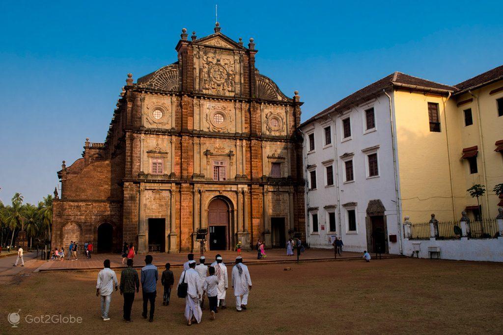 Basílica do Bom Jesus, Goa Velha, Índia