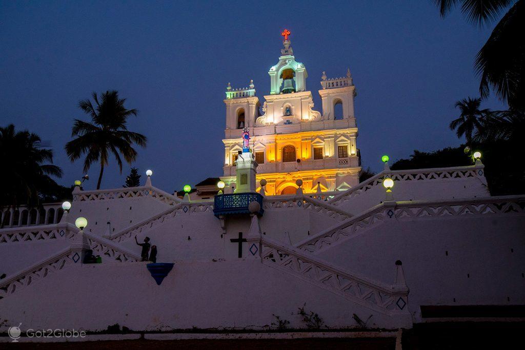 Igreja da Nª; Srª da Imaculada Conceição, Pangim, Goa