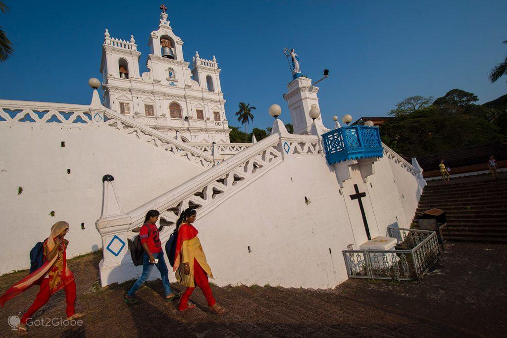 Igreja da Nª; Srª da Imaculada Conceição, Pangim, Goa, Índia