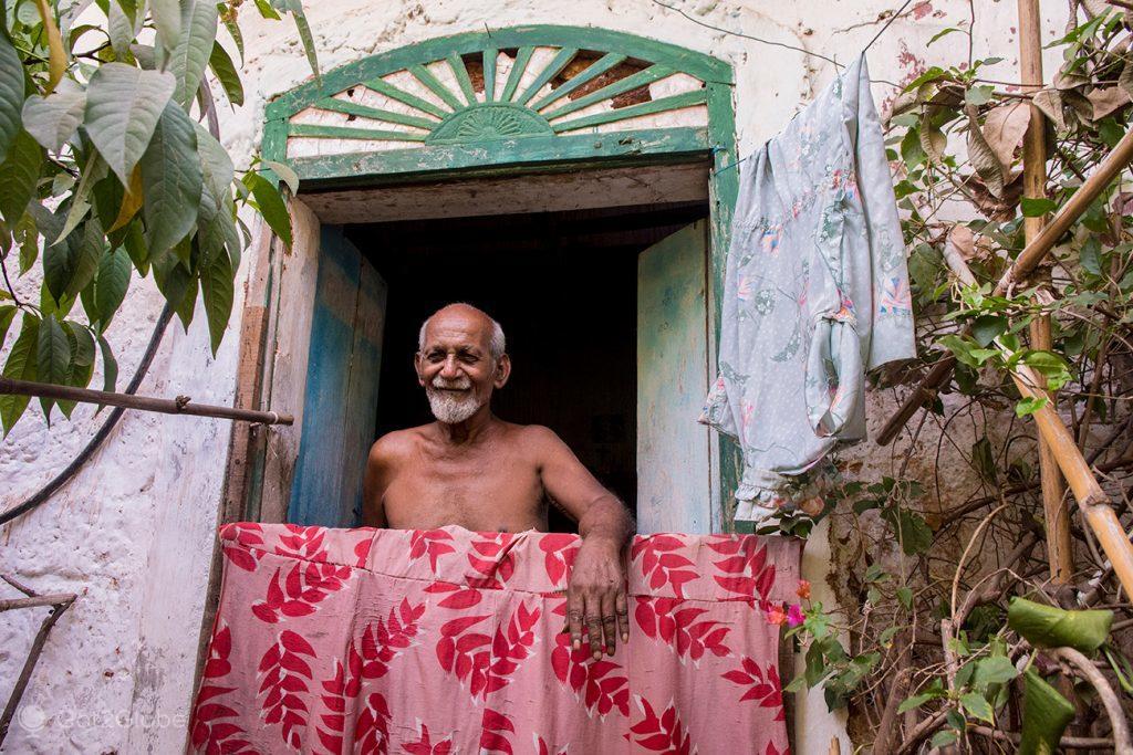 Sr. Fernando, Bairro das Fontaínhas, Pangim, Goa