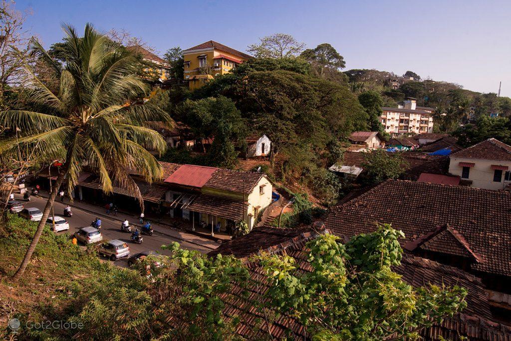 Casario colonial de Pangim, Goa