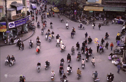 Cidade sem lei, Transito de Hanoi, Sob a Ordem do Caos, Vietname