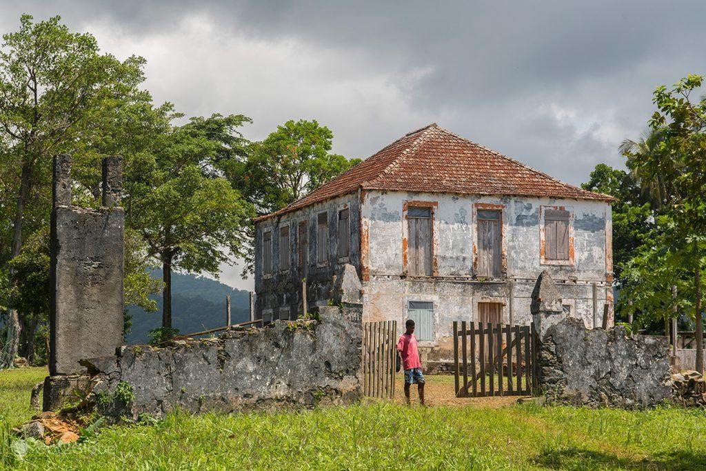 Roça de Terreiro Velho, ilha do Príncipe, São Tomé e Príncipe