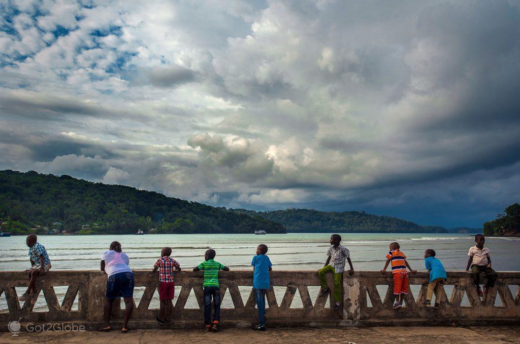 Varandim de Santo António, Ilha do Principe, São Tomé e Principe