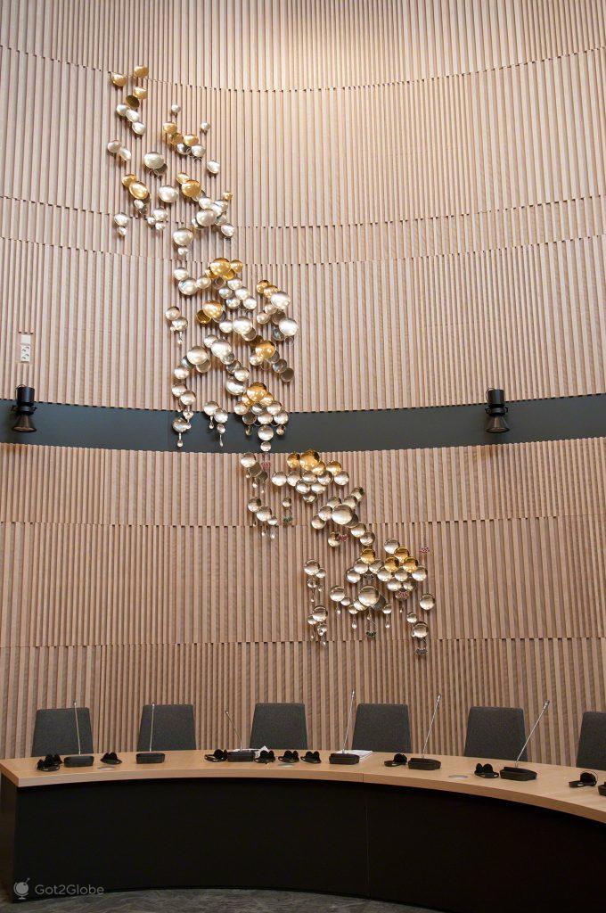 Prata Sami, Inari, Parlamento Babel da Nação Sami Lapónia, Finlândia
