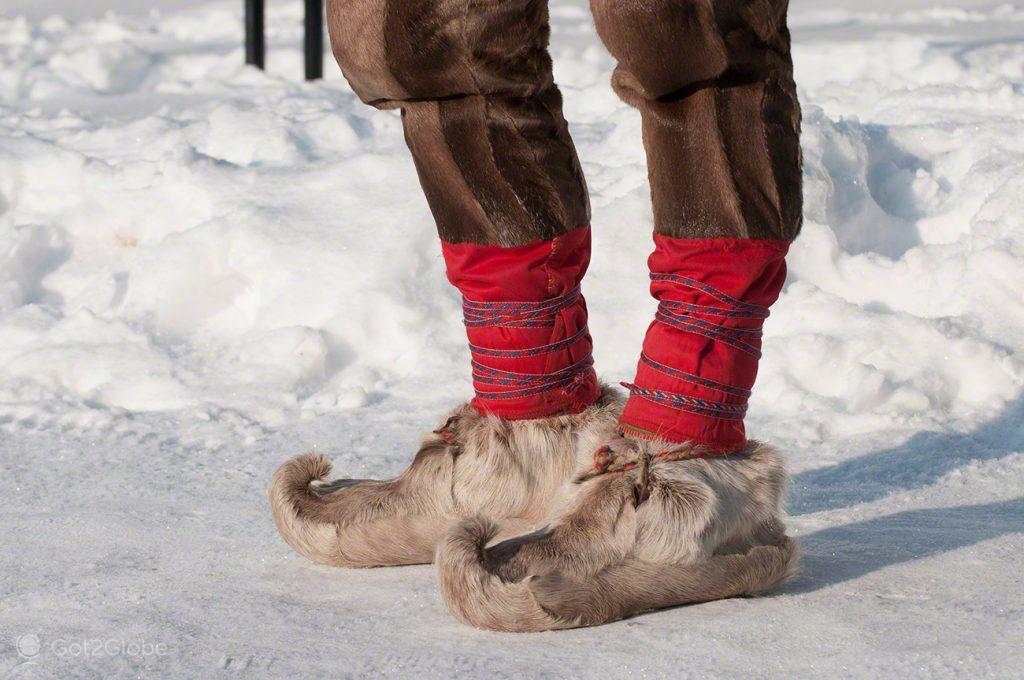 Calçado, Inari, Parlamento Babel da Nação Sami Lapónia, Finlândia