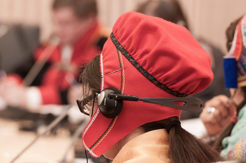De ouvidos na oposição, Inari, Parlamento Babel da Nação Sami Lapónia, Finlândia