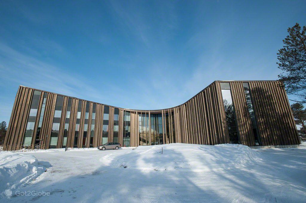 Sajos, Inari, Parlamento Babel da Nação Sami Lapónia, Finlândia