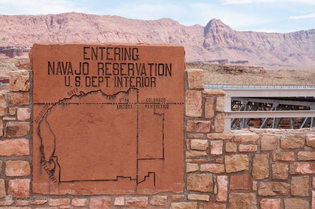 Entering Navajo Reservation