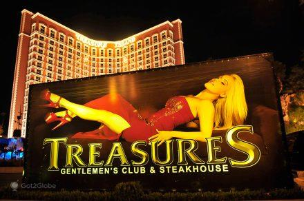 Treasures, Las Vegas, Nevada, Cidade do Pecado e Perdao