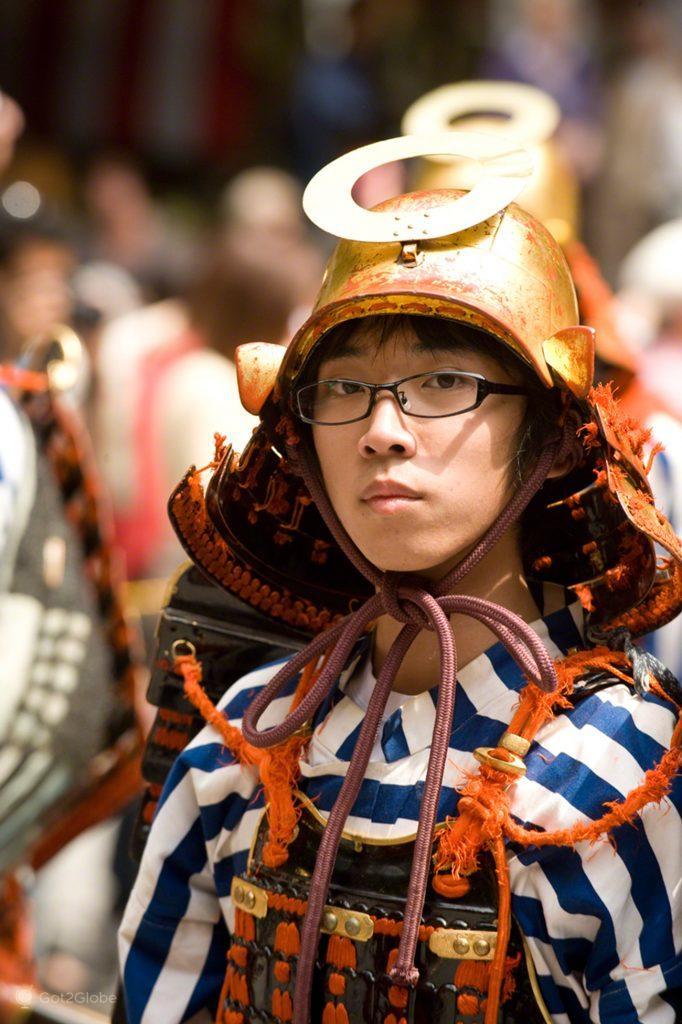 Samurai de óculos