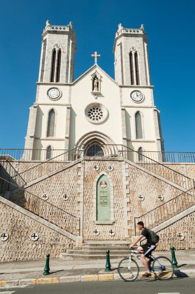 catedral de Saint Joseph, Nova Caledonia, Grande Calhau, Pacifico do Sul