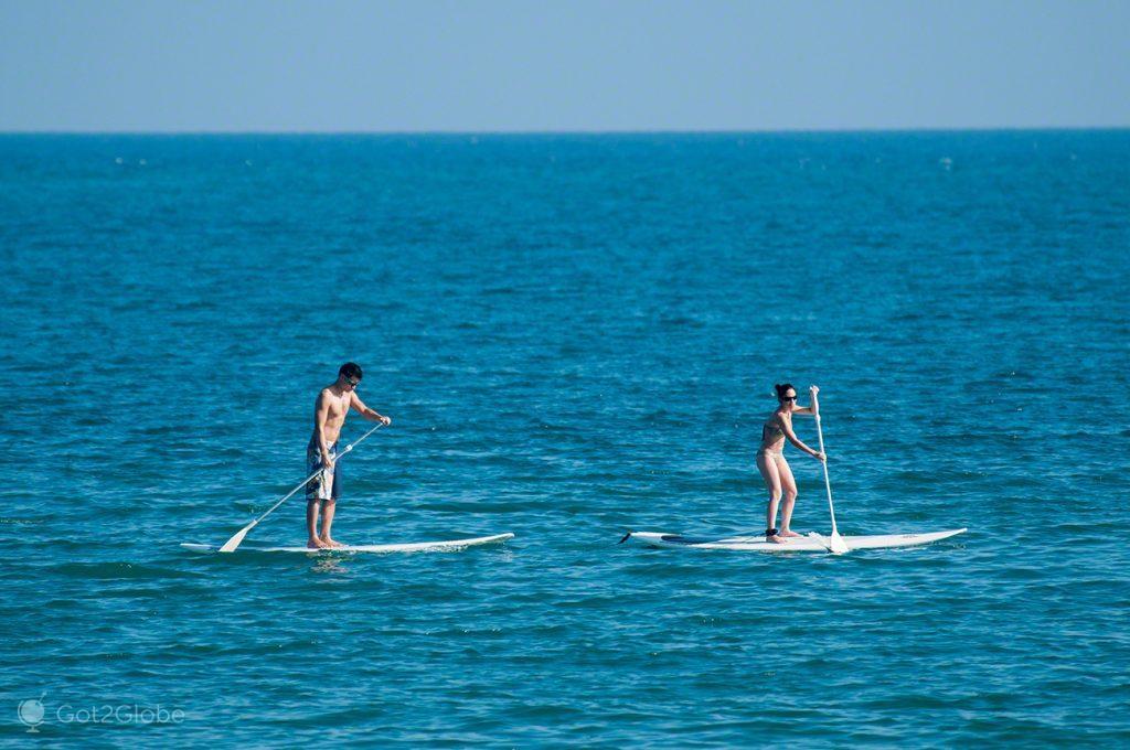 Paddle board, Nova Caledonia, Grande Calhau, Pacifico do Sul