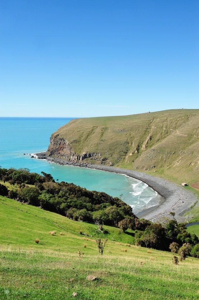 Enseada da Península Banks, Canterbury, Nova Zelândia