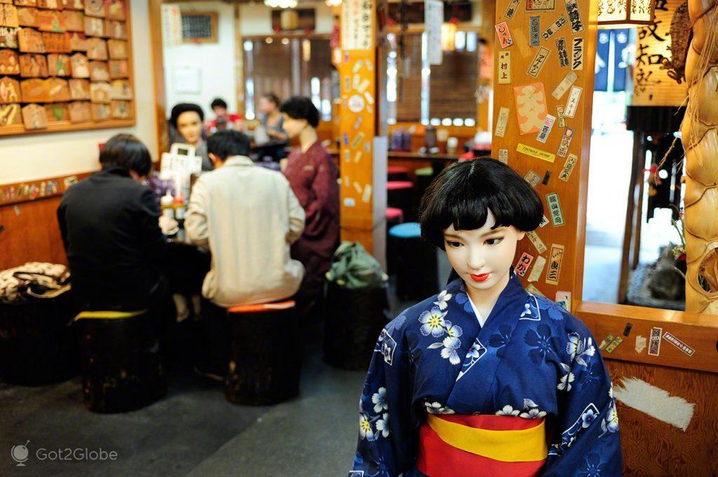 Restaurante, Quioto, um Japão Milenar quase perdido