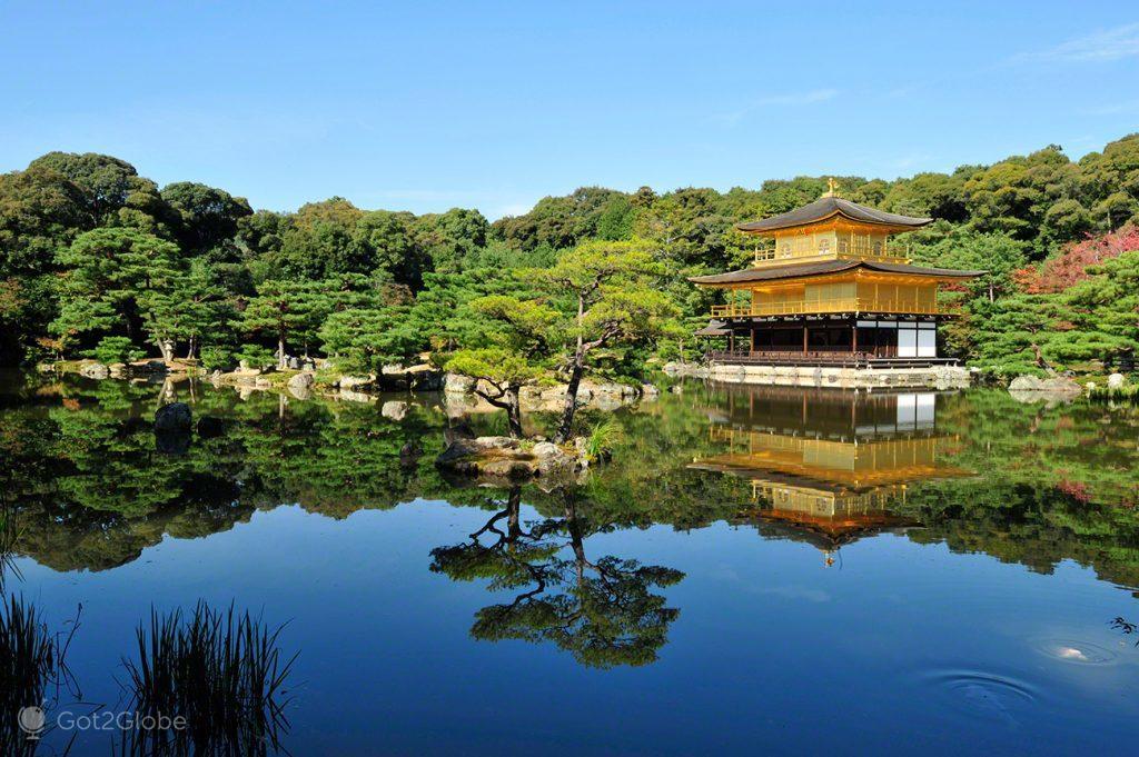 Pavilhão Dourado, Quioto, um Japão Milenar quase perdido