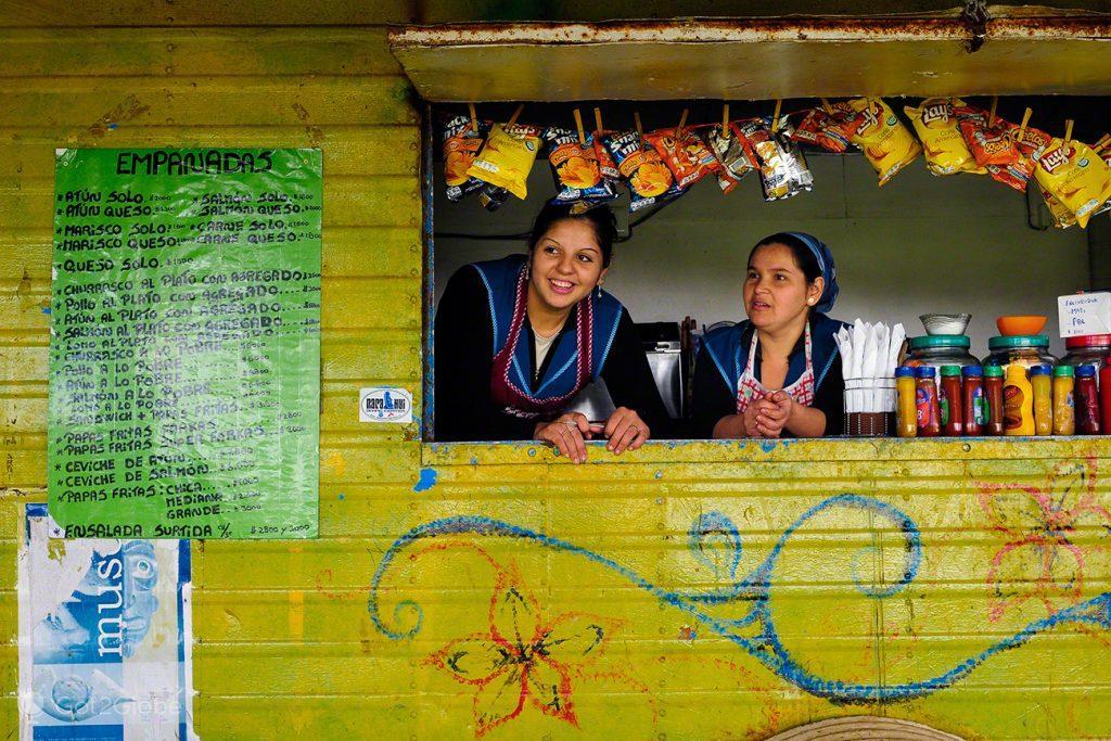 Empanadas e outros, Ilha Pascoa, Rapa Nui, Chile