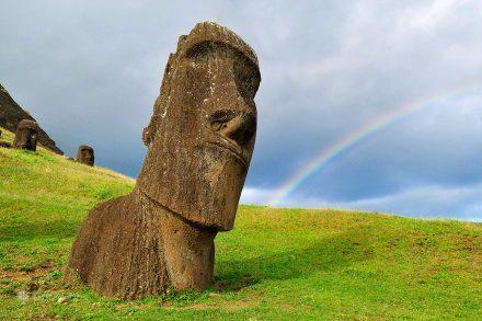Moai, Rano Raraku, Ilha Pascoa, Rapa Nui, Chile