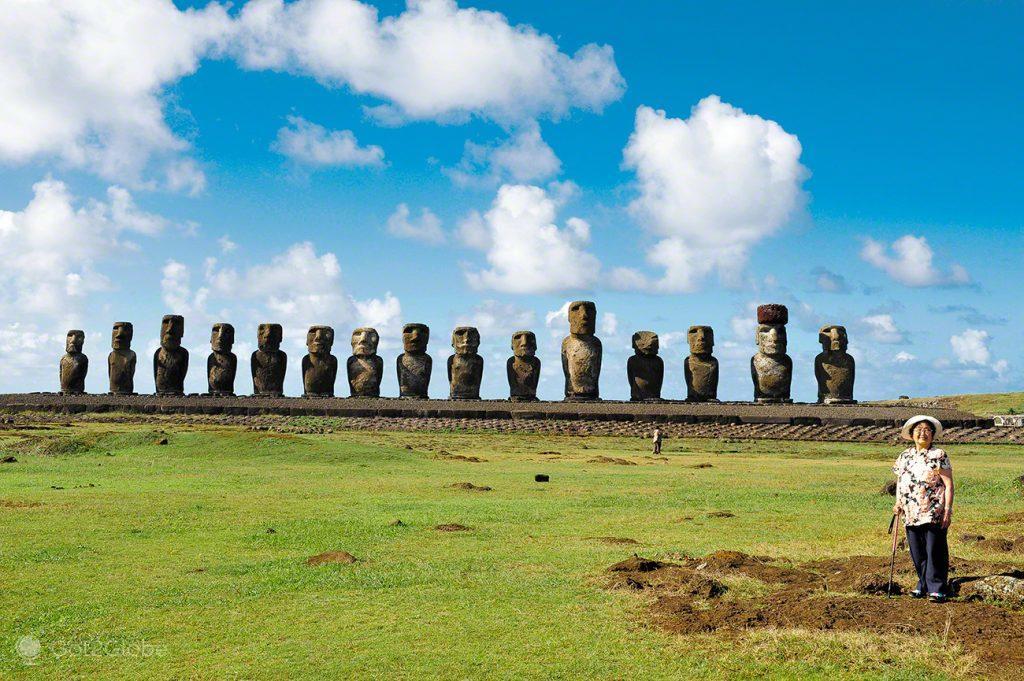ahu-tongariki, Ilha Pascoa, Rapa Nui, Chile