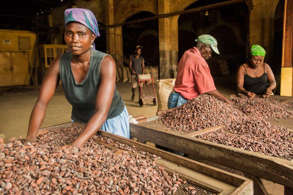 Cacau, Chocolate, Sao Tome Principe, roça Água Izé