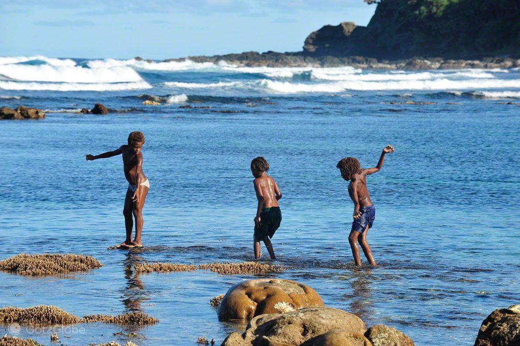 Crianças, Tanna, Vanuatu ao Ocidente, Meet the Natives