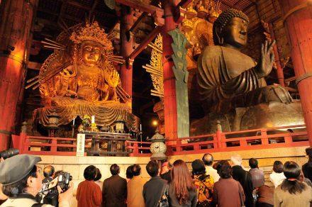 Buda Vairocana, templo Todai ji, Nara, Japão