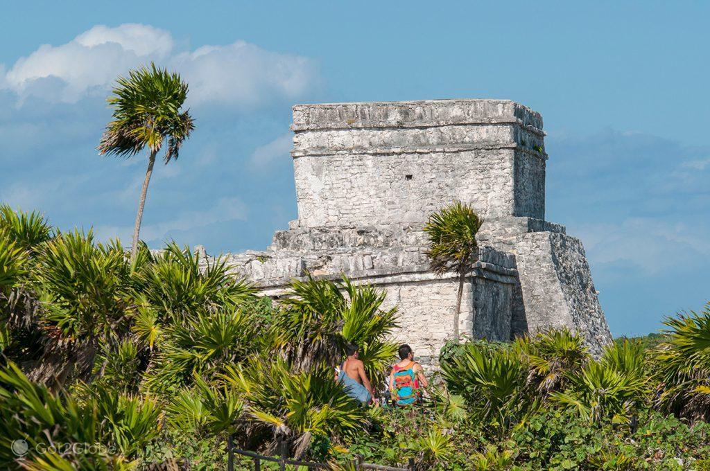 Castelo, Ruínas Maias da Riviera Maia, México