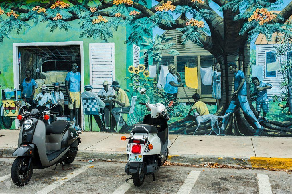 Mural de Key West, Flórida Keys, Estados Unidos