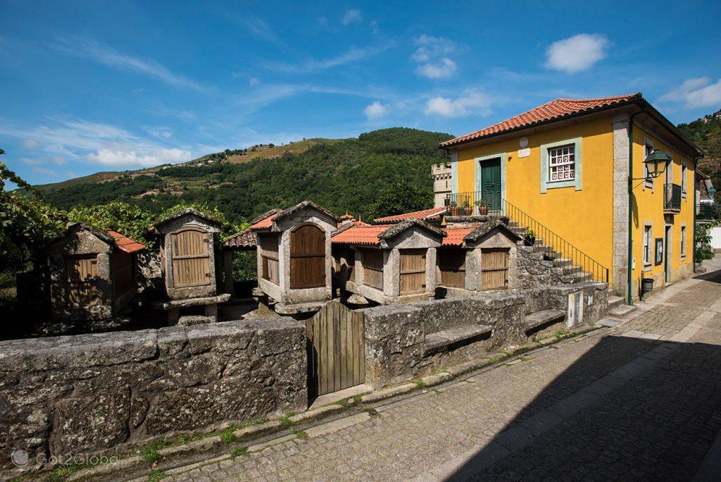 Espigueiros de Sistelo, Arcos de Valdevez, Minho, Portugal