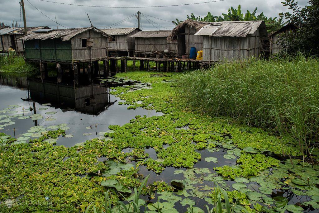 Palafitas de Nzulezu, Gana