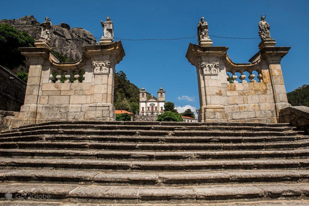 santuário da Nª; Senhora da Peneda, PN Peneda-Gerês, Minho, Portugal