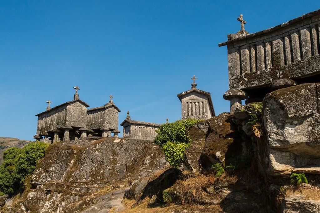 Espigueiros de Soajo, Minho, Portugal