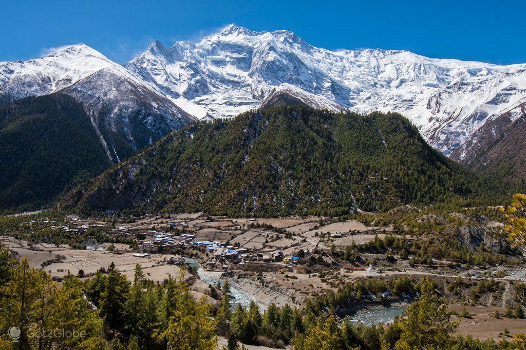 Lower Pisang, Circuito Annapurna, Nepal