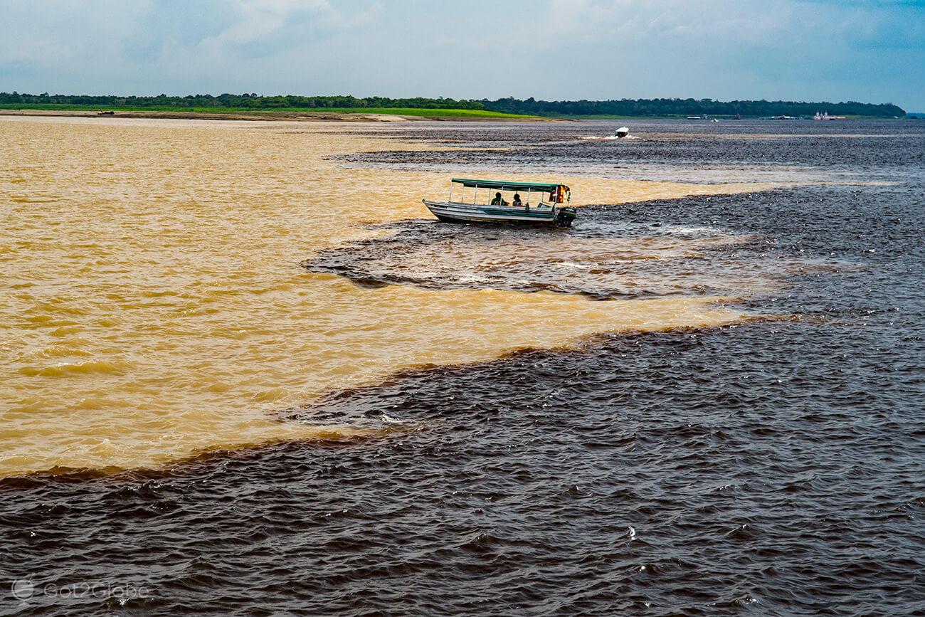 Encontro das águas, Manaus, Amazonas, Brasil
