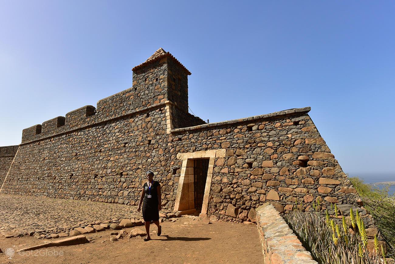 Forte de São Filipe, Cidade Velha, ilha de Santiago, Cabo Verde