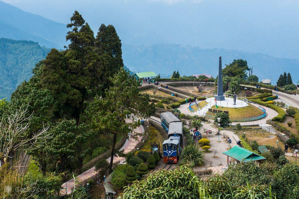 Batasia Loop, Darjeeling, Bengala Ocidental, Índia