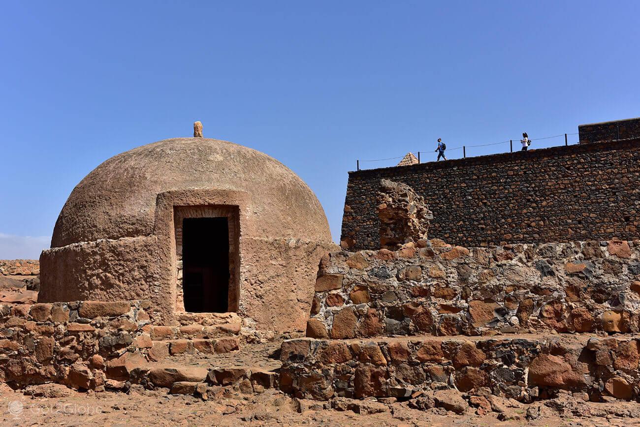 Cisterna de água do forte de São Filipe, Cidade Velha, Santiago, Cabo Verde